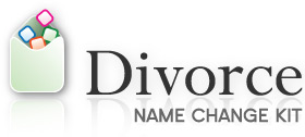 Divorce Name Change Kit